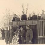 В день Победы 9.05.1955 на митенга у памятника Николая Героя