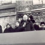Митинг открытие доски. 20.12.1973